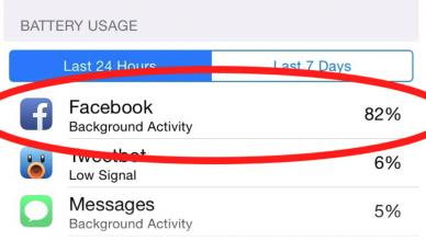 facebook-battery